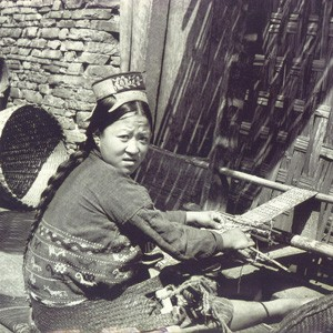 Weaving in Tawang
