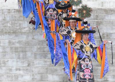 Monastic Dance at Khinmey