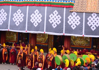 Procession During Torgya