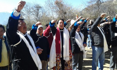 Ritual of Appeasement During Third day of losar