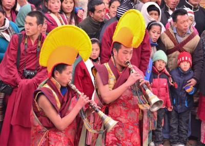 Monks at Torgya