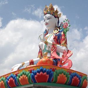 White Tara in Lumla