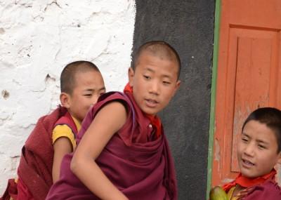 Lamas at Tawang Monastery