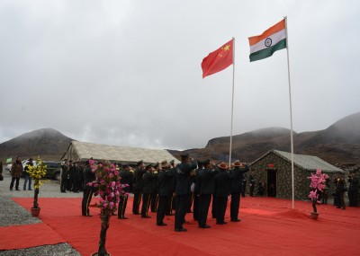 Salute at Bumla Border Personal Meet