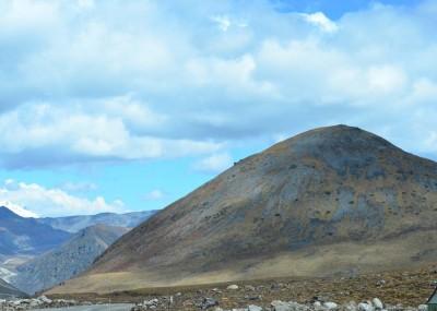 whaleback feature at Bumla pass